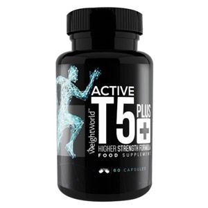 active T5 plus termogenico 60 capsule brucia grassi dimagrante weightworld