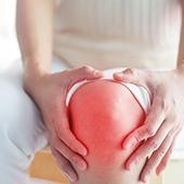 dolore ginocchia mancanca di collagene articolazione irritata dolorante