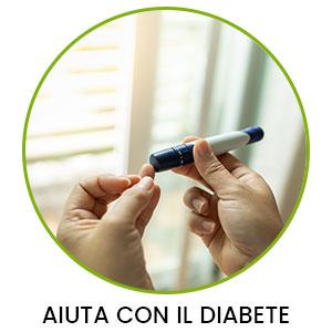 benefici della curcumina a riduzione del diabete e dell'insulina