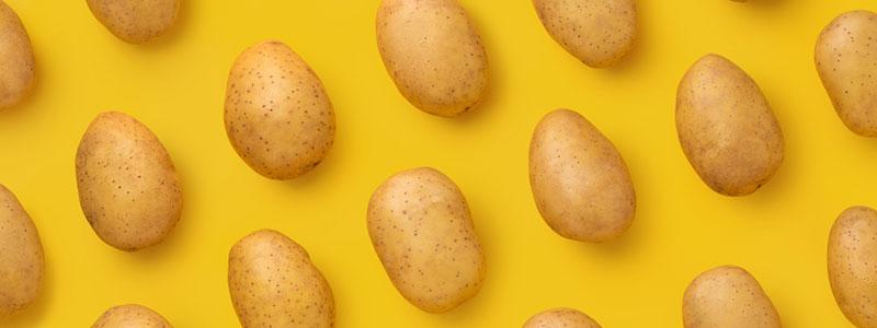 il numero di patate da rappresentare riduce il paragrafo sul consumo di carboidrati