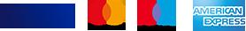 logo carte di credito visa maestro mastercard american express