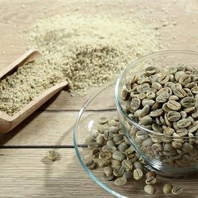 Le proprietà del caffè verde