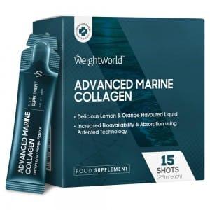 Collagene Marino Da Bere con acido ialuronico, coq10 e vitamina c in shots da 25 ml