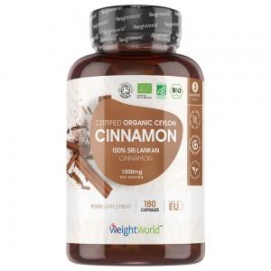 Cannella di Ceylon Organica - 180 Capsule - 500 mg