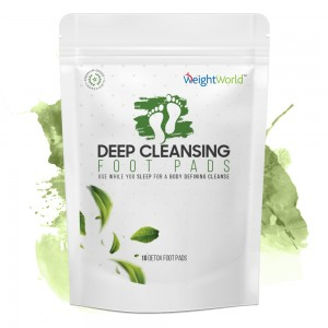 deep cleansing foot pads