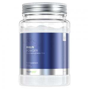 Inulina in Polvere - Integratore Prebiotico Per Digestione Ricco di Fibra - 500g