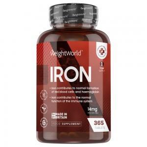 Compresse di Ferro | Integratore Ferro a supporto del sistema immunitario e per la formazione dei globuli rossi e dell'emoglobina