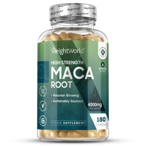 Maca Compresse WeightWorld  | 180 Compresse | Integratore energizzante naturale
