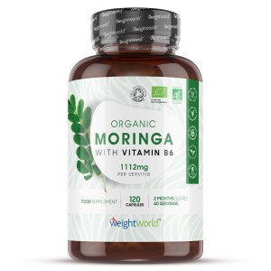 Capsule biologiche di Moringa