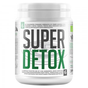 Bio Super Detox Mix - Integratore Detox in Polvere a base di Clorella e Superfoods - 300g