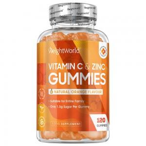 Gomme da masticare alla Vitamina C e Zinco