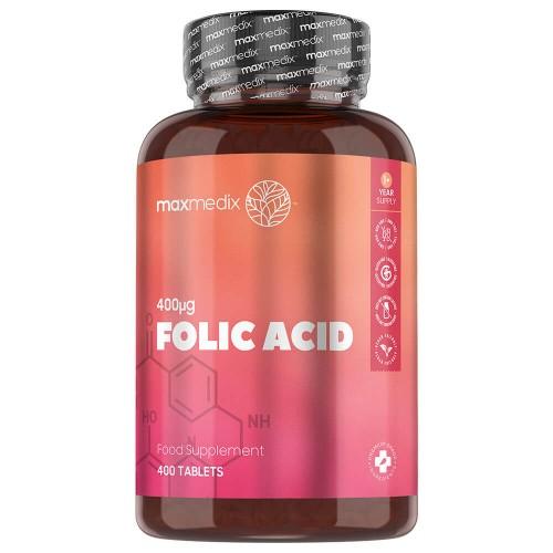Integratore di acido folico in capsule