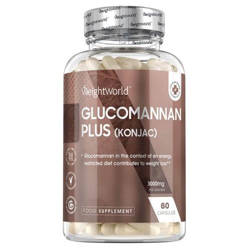 glucomannano a base di konjac con cromo in 60 capsule old package