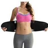 indossa sweat belt senza indumenti nell'area addominale